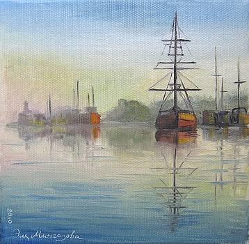 Morning by Eleonora Mingazova