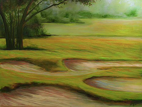 Morning Fairway by Michele Hollister - for Nancy Asbell