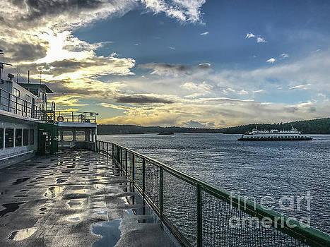Morning Ferry by William Wyckoff