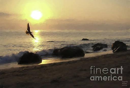 Morning Flight by Bill Baer