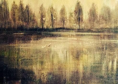 Morning Flight by Judy Osiowy
