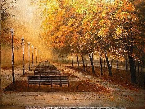 Morning Fog - Sold by Gary McGaugh