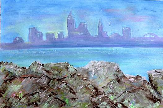 Morning in Cleveland by Georgene Carlton
