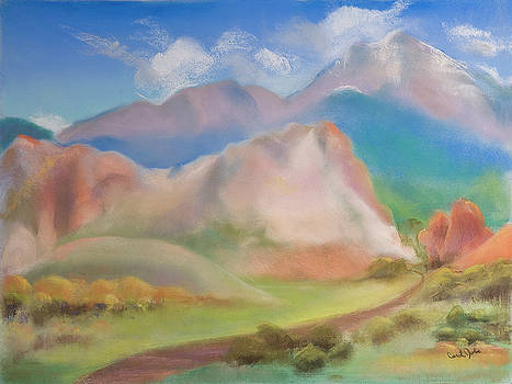 Morning in Garden of the Gods by Carol Jobe
