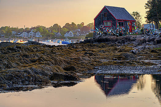 Morning in Mackerel Cove by Rick Berk