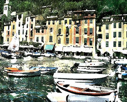 Morning in Portofino by Donna Corless