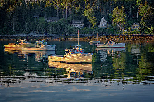 Morning in Tenants Harbor by Rick Berk