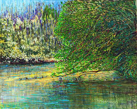 Morning in the Glen by Thomas Michael Meddaugh