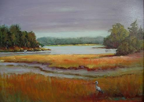 Morning in the Salt Marsh by Bonita Waitl