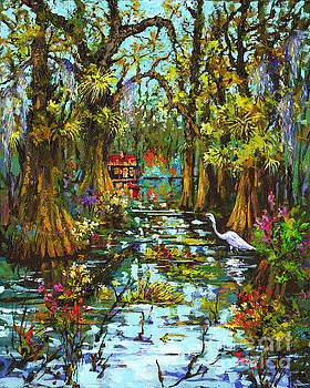 Morning in the Swamp by Dianne Parks