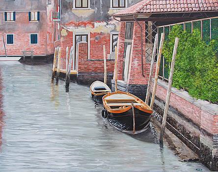 Morning in Venice 8 by Steven Fleit