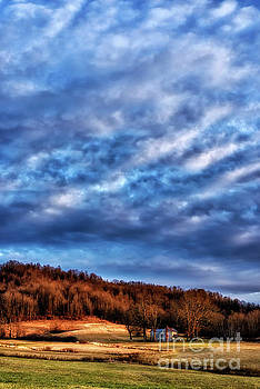 Morning Light and Clouds by Thomas R Fletcher