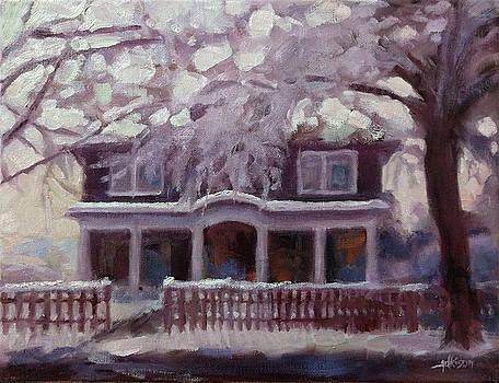 Morning Light in Winter by Adam Adkison