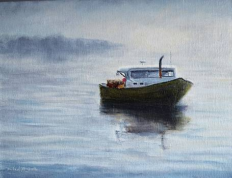 Morning Lobster Boat by Michael McGrath