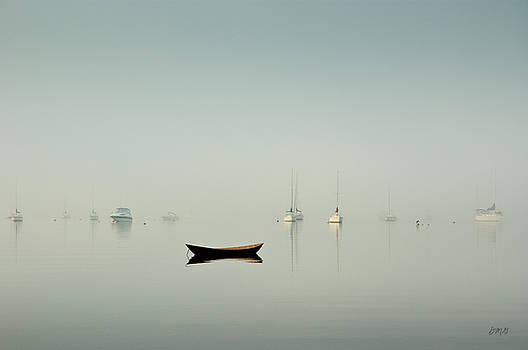 Morning Mist Bristol Harbor by David Gordon