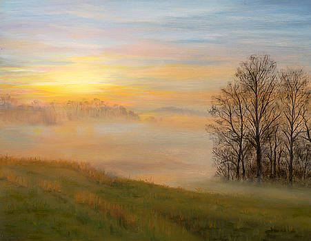 Morning Mist by Christa Eppinghaus