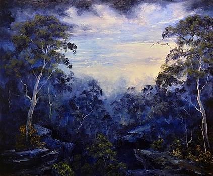 Morning Mist by John Cocoris