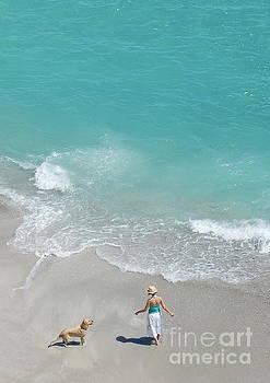 Morning on Clifton Beach by Tatyana Binovska