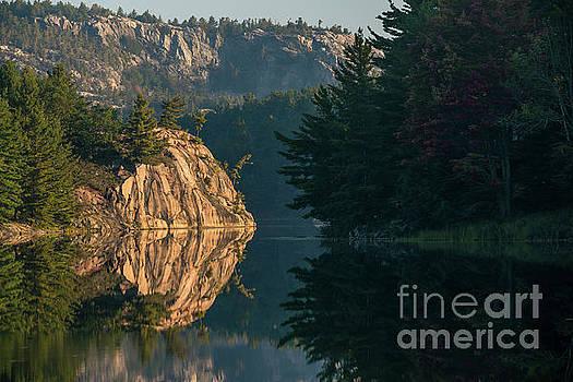 Morning on George Lake - Killarney Ontario by Matt Trimble