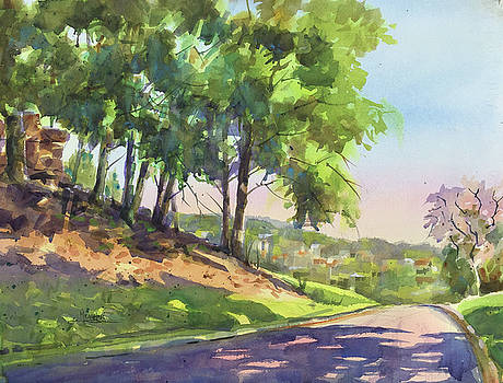 Morning On Penn Drive by Spencer Meagher