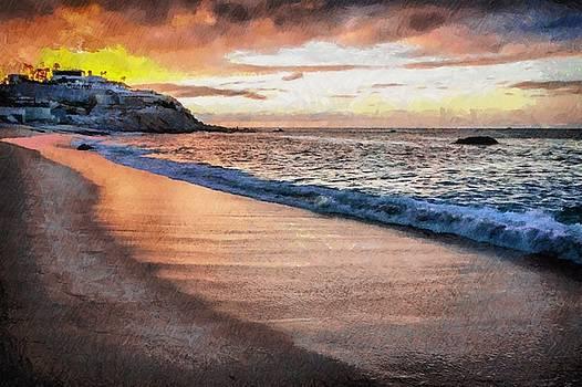 Morning on the beach by Ashish Agarwal