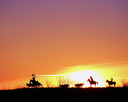Morning On The Chisholm Trail by Christopher McKenzie