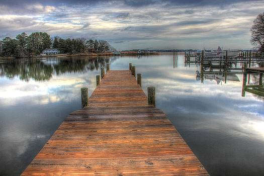 Morning on the Dock by Tim Ford