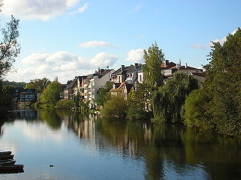 Morning on the Lahn River by Jessica Hoover