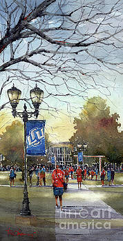 Morning on the Mall by Tim Oliver