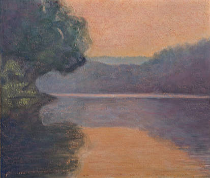 Morning On The Potomac by Don Perino