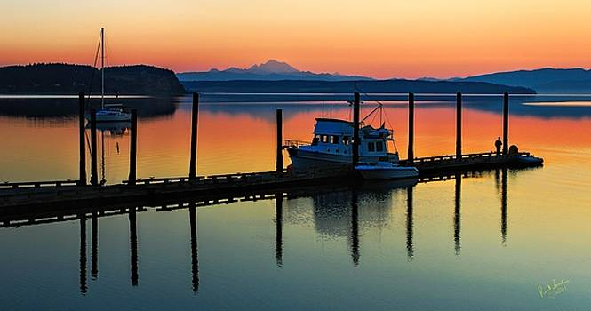 Morning on the Pier Mod by Rick Lawler