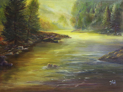 Morning On the River  by Tim Ford