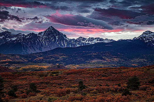 Morning over the Rockies by Andrew Soundarajan