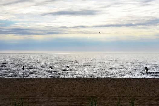 Morning Paddle by Kim Bemis