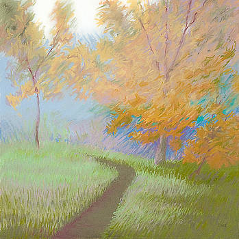 Morning Path 2 by Bruce Richardson