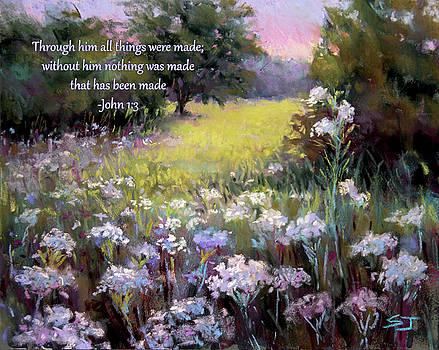 Morning Praises with Bible Verse by Susan Jenkins