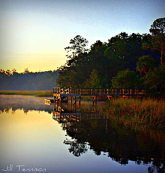 Morning Reflection 1 by Jill Tennison