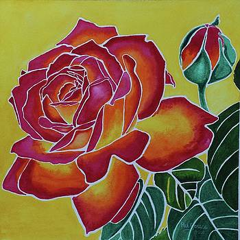 Morning Rose by Pat Gerace
