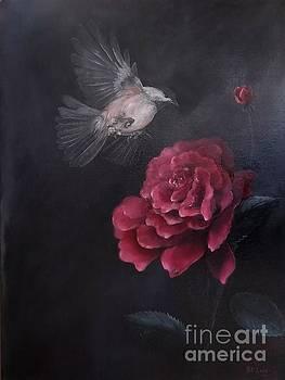 Morning Rose by Patricia Lang