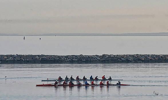 Morning row by Alan Thal
