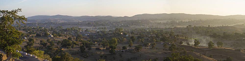 Morning Shine on Udaipur by Atul Daimari