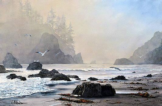 Morning Shore by Bill Hudson