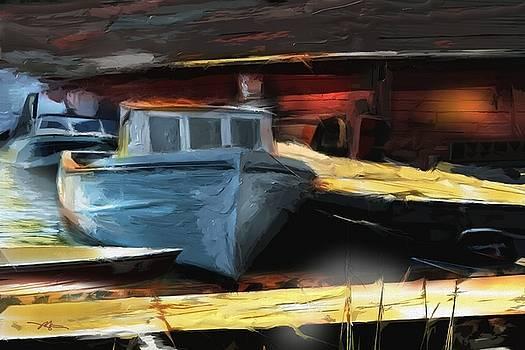 Morning Solitude by Bob Salo