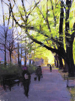Morning Stroll by Christine Bodnar