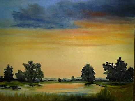 Morning Sunrise by Zak Eissa
