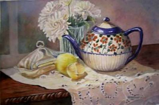 Morning Tea by Sherry McClendon