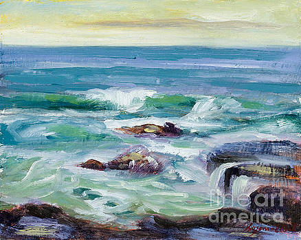 Morning Tide - Santa Cruz by Suzanne Elliott