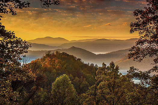 Morning View by Blue Ridge Mountain Life