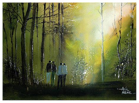 Morning Walk by Anil Nene