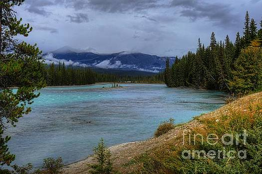 Wayne Moran - Morning Walk at the Athabasca River Jasper National Park